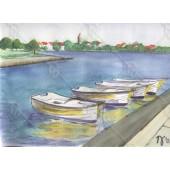 Csónakok Zatonban