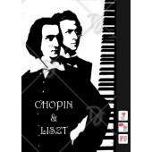 Chopin és Liszt-plakát